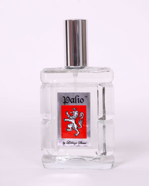 Palio for Men cut glass bottle with atomizer